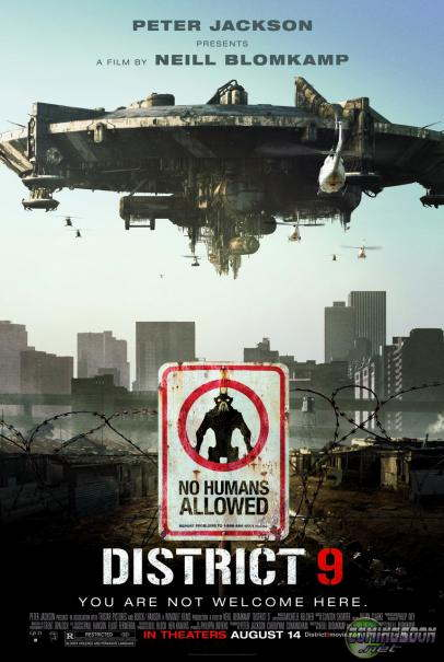 Locandina del film District 9